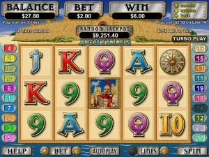 Aladdins Gold Casino Slots Screenshot