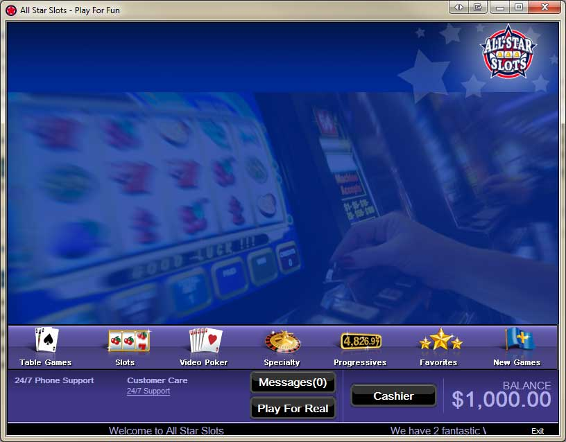 All star slots casino review smoke free casino in las vegas