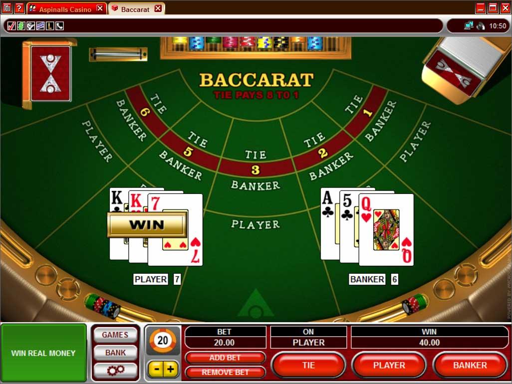 Бесплатные игры казино - баккара