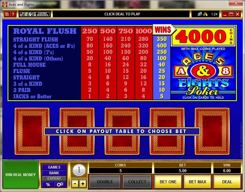 Aztec Riches Video Poker