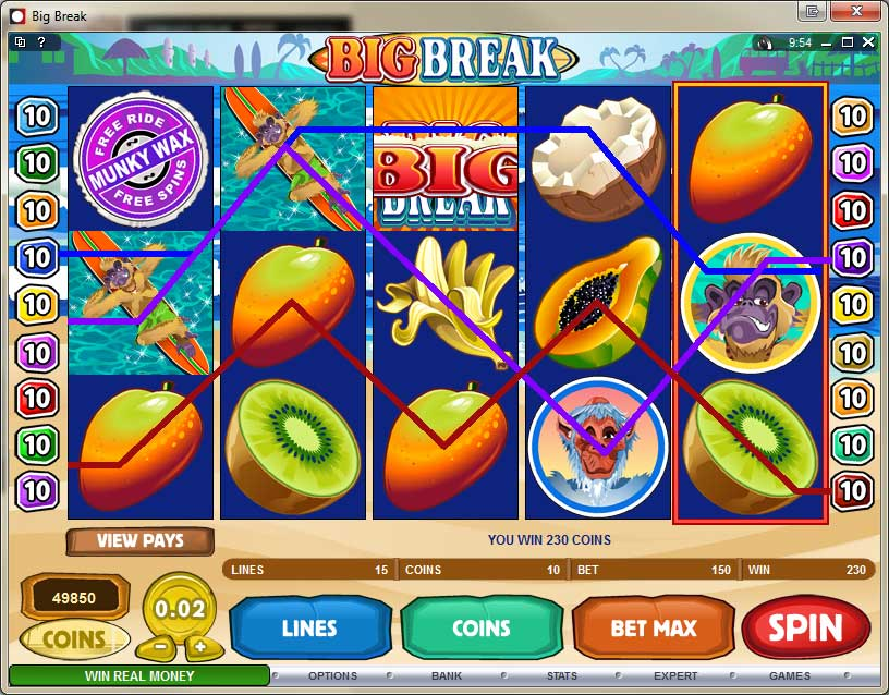 Desert Dollar Video Slots