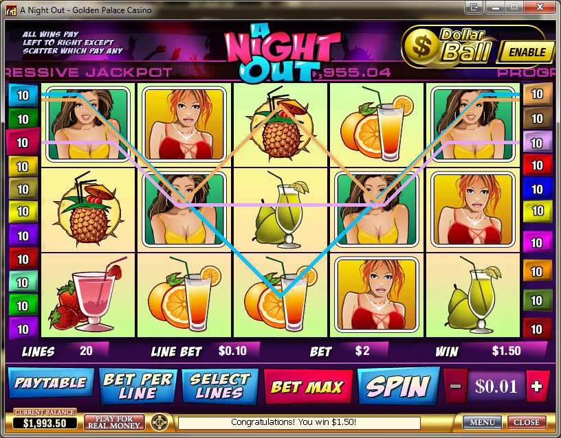 Golden Palace Casino Slots