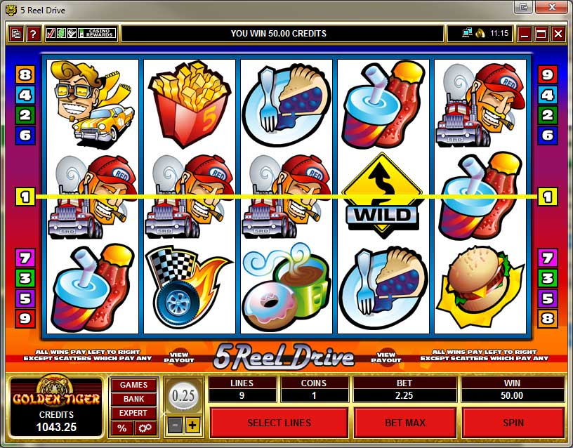 Golden Tiger Casino Slots