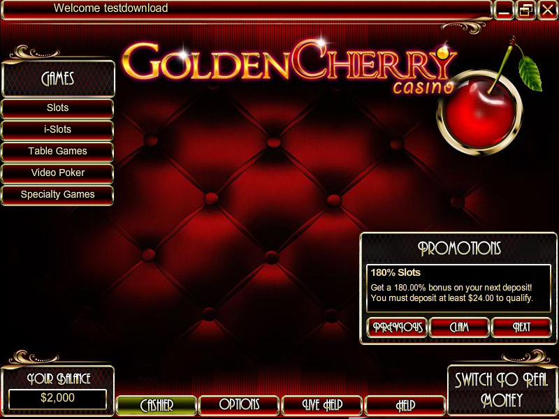 cherry casino bonus code