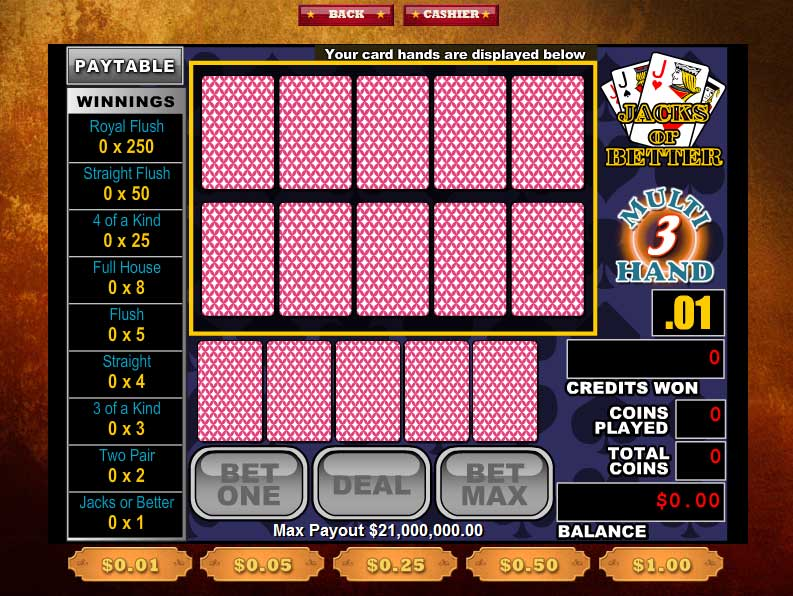 High Noon Video Poker