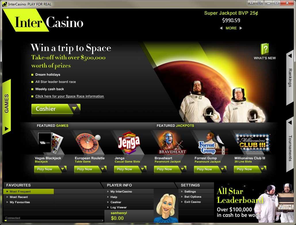 Casino code intercasino indiana live casinos