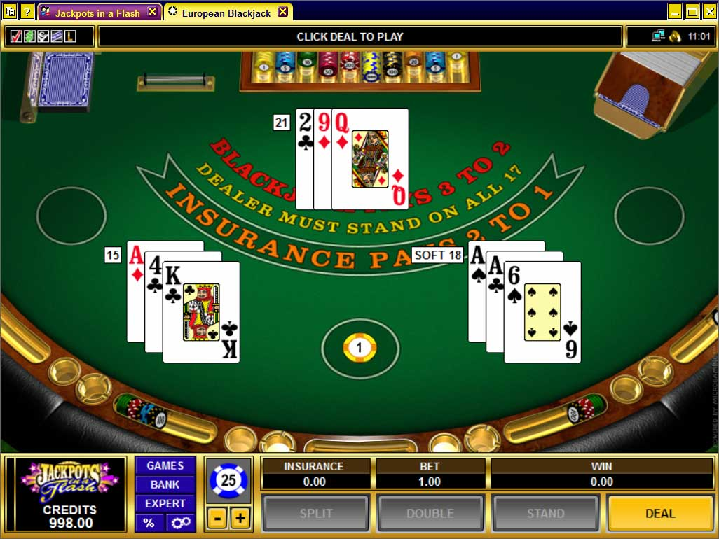 Jackpots in a Flash Blackjack