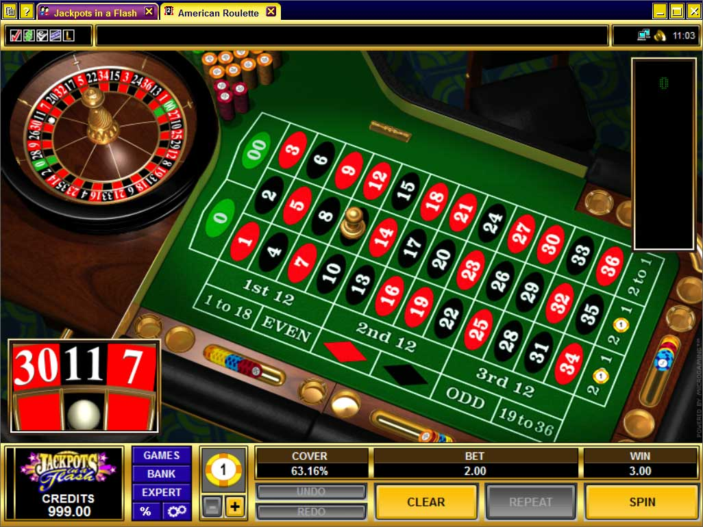 Jackpots in a Flash Roulette