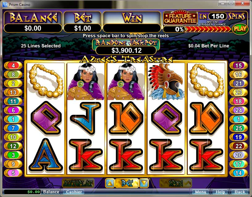 prism online casino ra game