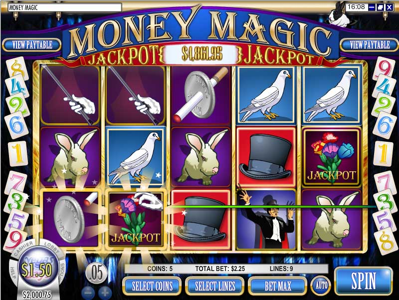 Rockbet Casino Slots Screenshot