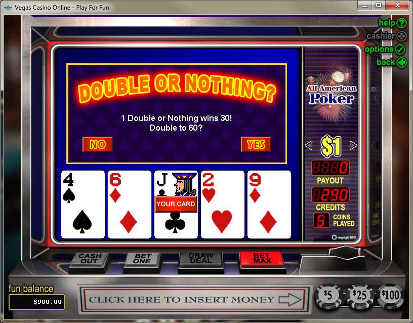 Vegas Casino Video Poker