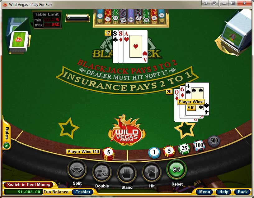 Wild Vegas Blackjack