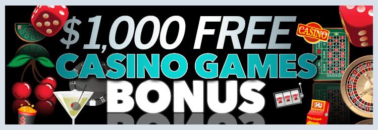 $1000 Bonus Sloto Cash Casino