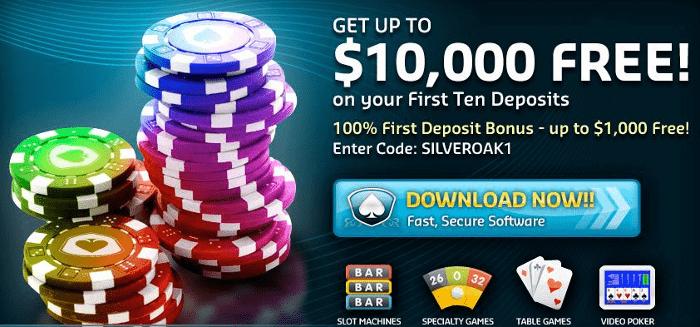 $10000 Silver Oak Bonus