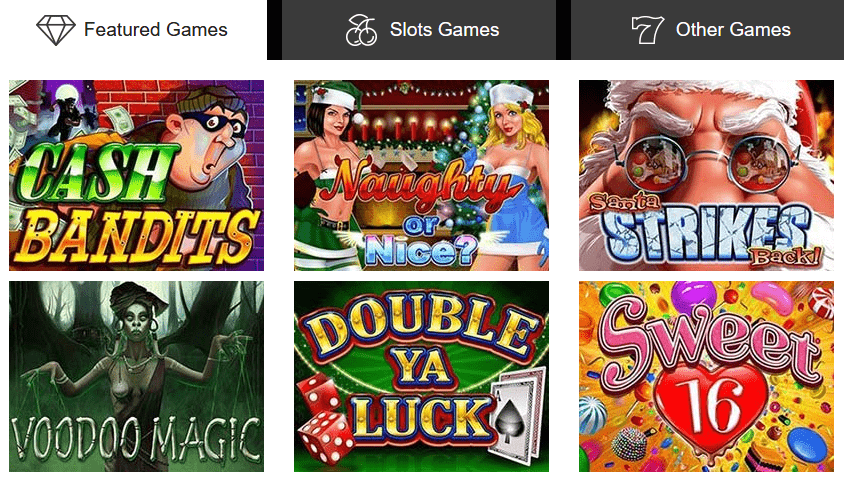 Sloto Cash Featured Games