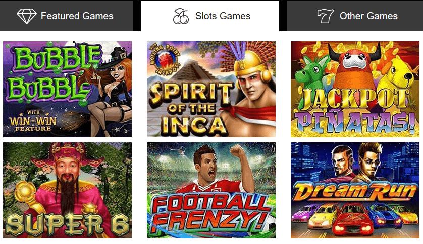 Sloto Cash Slots Games