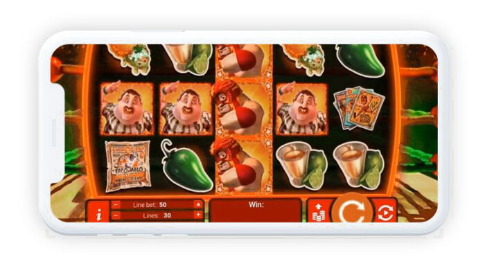 Red Dog mobile slots