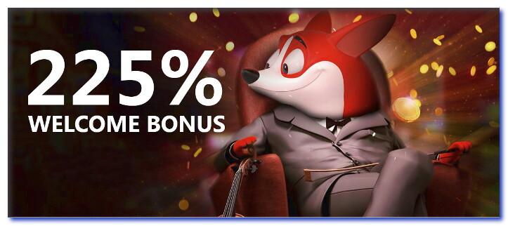Red Dog Online Casino 225 Welcome Bonus