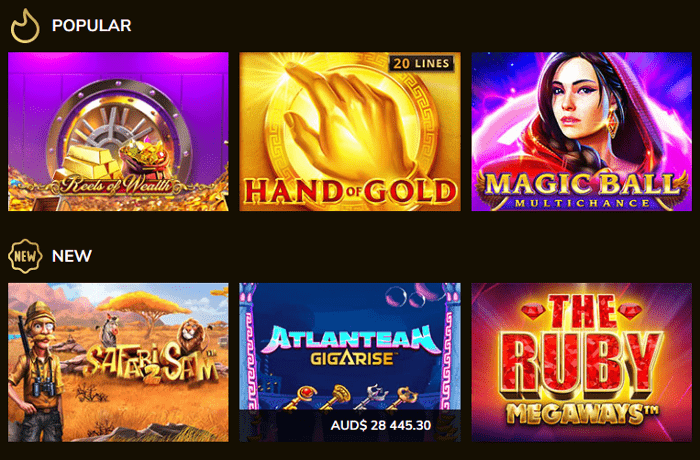 Kings Chance Casino Games
