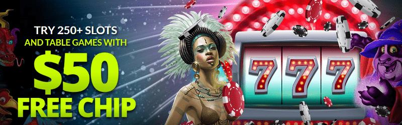 Raging Bull Casino $50 Free Chip