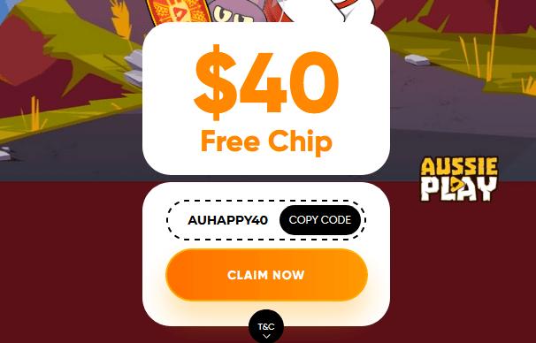 Aussieplay $40 Free
